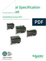 SCADAPack RTUs Controllers IO Datasheet