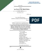 Brief of Amici Curiae of Public Health Deans