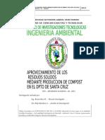 Universidad Autonoma Gabriel Rene Moreno Residuos Solidos