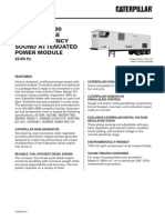 Caterpillar PM1000 Containerized Diesel Generator Set