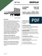 Caterpillar RC1000 Containerized Diesel Generator Set