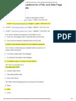 html-mcqs