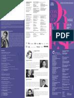Programa de Sala | Concerto Orthesp | 13 e 15 de Maio de 2016