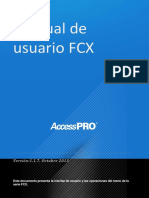 Manual de Usuario FCX_ES