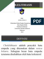 Slide Cholelthiasis