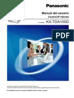 Manual Del Usuario Panasonic