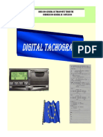 Digital Tachograph (Technical Characteristics and Functions, Installation, Activation, Calibration, Cheeking and Use of Digital Tachographs) - A.G.R