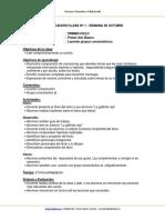 Planificacion Lenguaje 1basico Semana36 Octubre 2013