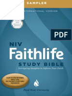 NIV Faithlife Study Bible Digital Sampler