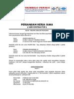 Perjanjian Kerja Sama Sub Kontraktor Marwan