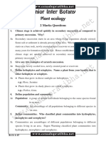 Jr Botany Plantecology