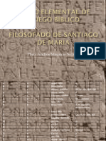 Curso Elemental de Griego Bíblico Filosofado de Santiago de María