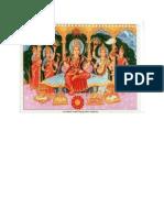 Divine Mother Raajaraajaeshawaree Bhagawatee Trepurasundaree