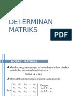 UPN Determinan