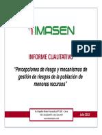2. Presentacion Resultados Focus Group - IMASEN