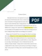 literacy memoir draft - amber cousin  1