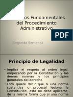 Derecho Procesal. Adm. Princ. Del Procedimiento Administrativo