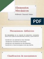 Elementos Mecanicos' Wilfredo Chaverri