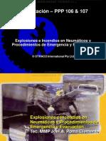 Curso Explosiones Incendios Neumaticos Camiones Mineros Procedimientos Emergencia Evacuacion