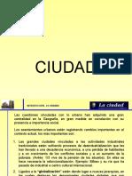 Ciudad Definicion y Concepto