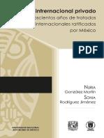 Derecho Internacional Privado. 200 Años de Tratados Internacionales Ratificados Por México
