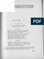 William Shakespeare - Negutatorul Din Venetia, Actul V