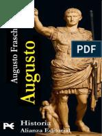 Fraschetti Augusto. Augusto, Biografia Del Primer Emperador de Roma