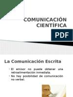 2. Comunicación científica