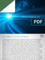 Globus Medical Analyst Day Presentation