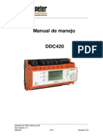 Manual de Manejo Para El DDC420 Actual