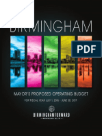 Fy 2017 Mayor's Proposed Operating Budget