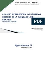 Propuesta Consejo de Cuenca Chicama