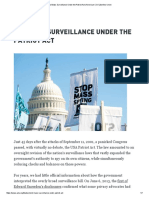 u3l12a9 - aclu - end mass surveillance under the patriot act