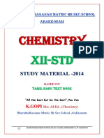 12th_std_chemistry Notes of Lesson_- 3 Mark