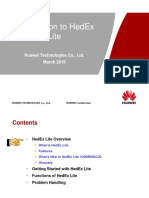 HedEx Lite V200R002 Training Material