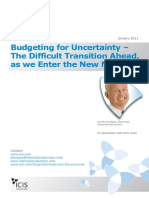 Budgeting for Uncertainty White Paper 012011