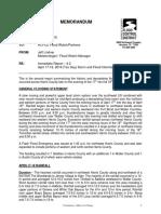 Immediate Flood Report #2 - Tax Day Flood (1)