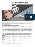 """Retread Ted"" Strickland"