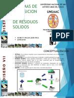 Sistemas de Disposicion Final de Residuos Solidos - Entrega 15-04-16