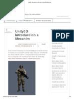 Unity3D Introduccion a Mecanim _ Game Development