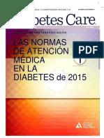 AAsociacion Americana de La Diabetes ADA. 2015pdf