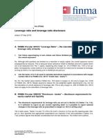 FAQ Leverage Ratio Und Deren Offenlegung