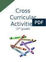cross curricular activities