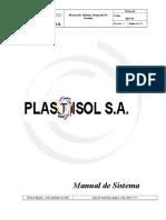 4 Manual de Calidad Sig Plastisol s.A