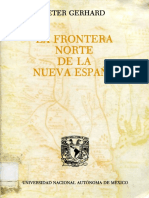 Peter Gerhard La Frontera Norte (Parte 1)