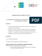 AGENDA 1° Jornada Institucional 16mar16