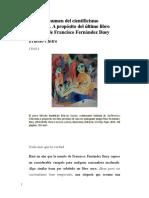 Sucinto Resumen Del Cientifismo Canallesco-Ernesto Castro