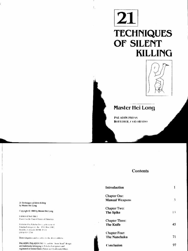 21 Techniques Of Silent Killing.pdf