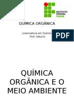 Quimica Orgânica e Meio Ambiente