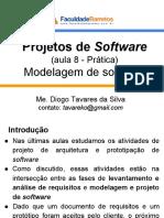 Projetos de Software (Aula 8) Modelagem de Software